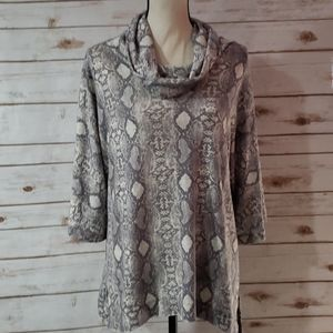 Andree by Unit Cowl Neck Tunic - NWOT